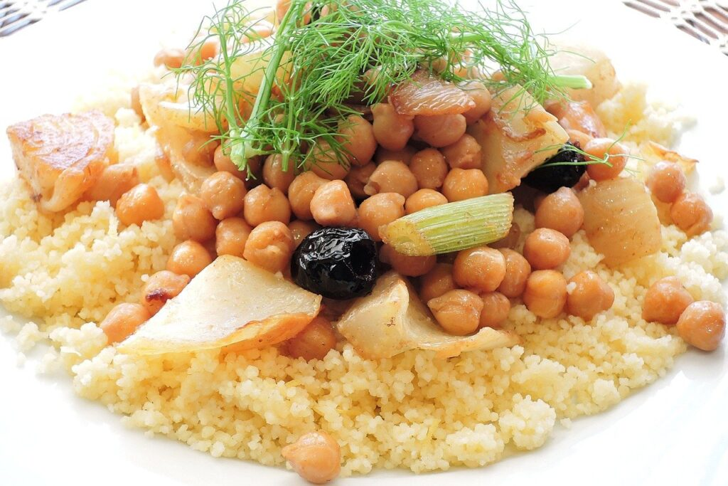 Couscous - mediterrane Spezialität aus Nordafrika