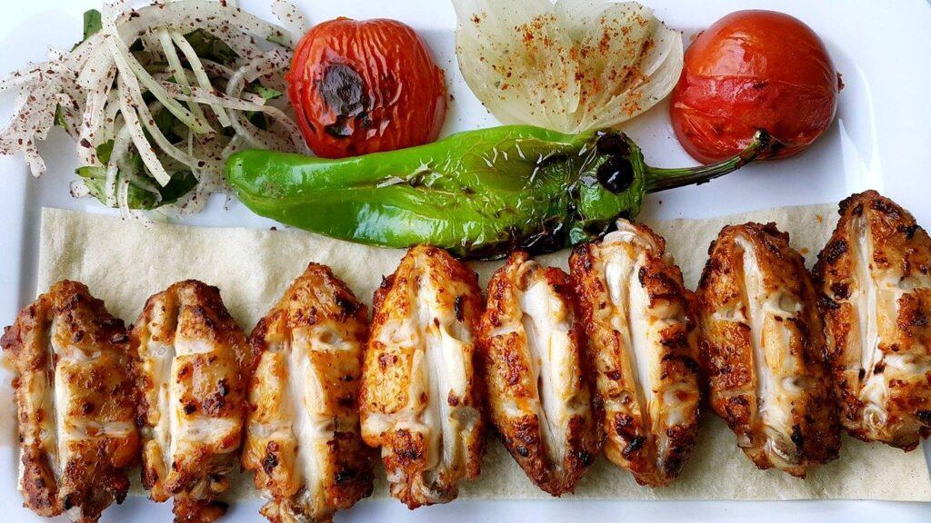 Libanesiches Kebab - mediterrane Delikatesse
