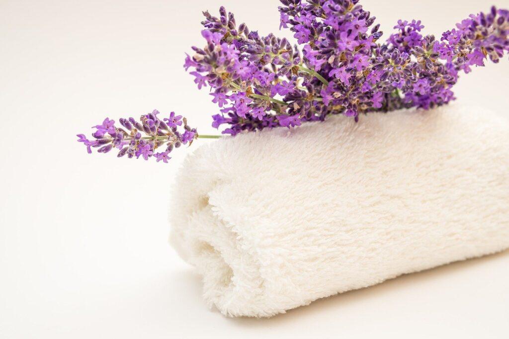 Entspannungsbad mit Lavendel