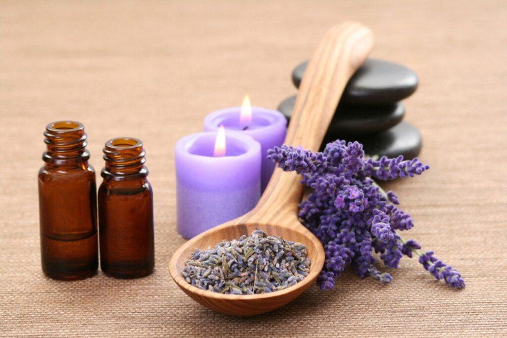 Lavendel wirkt entspannend