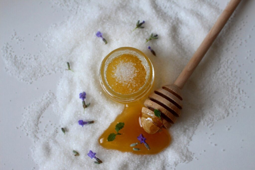 Honig mit Lavendel