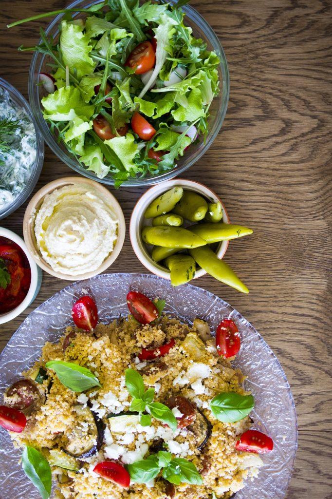 Couscous-Salat. Ein marrokanische Spezialität gegen Fernweh.