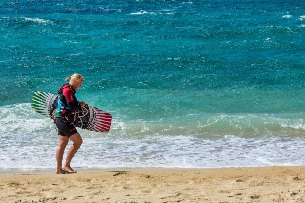 Naxos - Nicht nur Baden auch Surfen geht