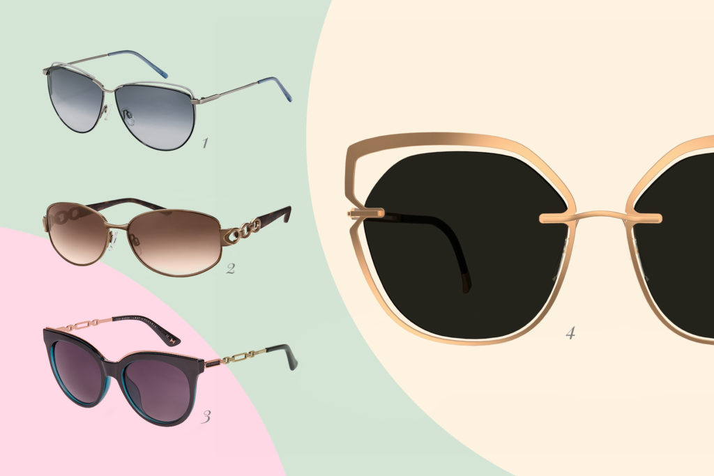 Musthave. Cut-Outs an der Brillenfront oder in den -bügeln.